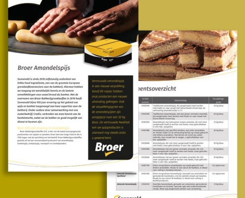 Productsheet Sonneveld