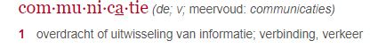 uitleg Dikke Van Dale